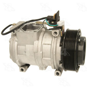 A/C  Compressor And Clutch- New   Four Seasons   78344