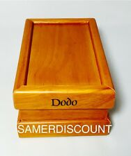 POLLEN  DODO  WOODEN SHAKER / SIFTER / / 8 X 5 X 4  BOX