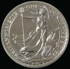 2012 Britannia Royal Mint 1 .oz  .958 Silver Coin In Orginal Mint Packaging