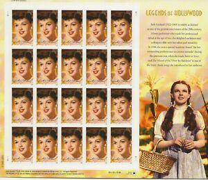 2006 39 cent Judy Garland full Sheet of 20, Scott #4077, Mint NH