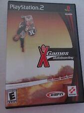 ESPN X Games Skateboarding (Sony PlayStation 2, 2001)