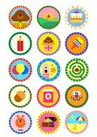 15 HEY DUGGEE EDIBLE PREMIUM ICING CUPCAKE CUP CAKE DECORATION IMAGES TOPPERS