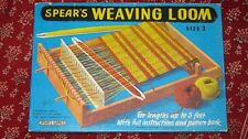 Vintage Spear's Weaving Loom, Size 2, Perfect.
