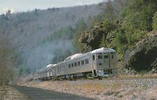 VTG TRAIN POSTCARD READING BLUE MOUNTAIN & NORTHERN #9166 - HETCHEL PENNSYLVANIA