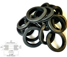 """Lot of 18 Rubber Grommets 1-3/4"""" Inside Diameter- Fits 2"""" Wall Panel Holes"""