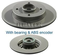 PEUGEOT 308 SW 2x Brake Discs (Pair) Solid Rear 1.6 1.6D 07 to 14 249mm Set New