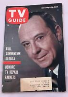 1960 TV Guide July 23 John Daly Republican Convention Chicago Doug McClure PITT