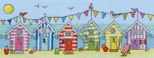 Bothy Threads Cross Stitch Kit - Beach Hut Fun XJR19