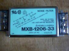 LAMBDA  MXB-1206-33  EMI POWER LINE FILTER, 6A, 1mA