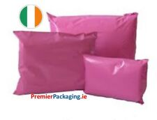 Baby Pink Poly Mailer Mailing Bags - various sizes!