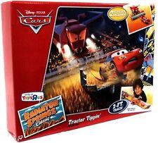 Disney Pixar Cars Tractor Tippin Set plastic Frank the Combine Radiator Springs