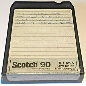 1 x SCOTCH BLANK TAPE 90 mins / A- / 8-track 8 track tape cassette cartridge