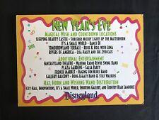 DISNEYLAND New Year's Eve Store Information Display