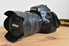 NIKON D5100 DSLR CAMERA KIT WITH NIKKOR LENS CHARGER BATTERY MANUAL & 64GB SD