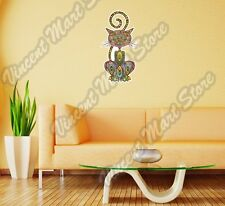 "Butterfly Abstract Art Design Colorful Wall Sticker Room Interior Decor 25""X13"""