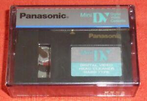 PANASONIC MINI DV DIGITAL VIDEO HEAD CLEANING CASSETTE - BRAND NEW & SEALED