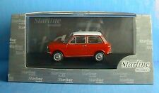 AUTOBIANCHI A112 RED STARLINE 506816 1/43 ROUGE ROT ITALIA NEW ROSSO WHITE ROOF