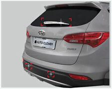 Rear Wiper Garnish Chrome Molding Kit For 2013~2015+ Hyundai Santa Fe DM Sport
