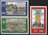 ALEMANIA/RDA EAST GERMANY 1975 MNH SC.1686/88 Weimar 1000th