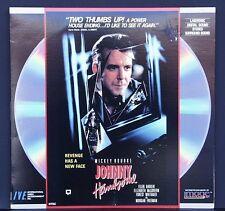 Johnny Handsome (1989) - Laserdisc - Mickey Rourke, Ellen Barkin
