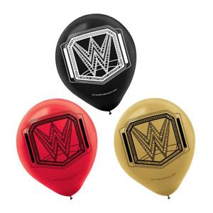 "WWE Birthday Party 12"" Latex Balloons (6)"