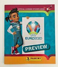 Panini EM EURO 2020 Preview - Leeralbum / Sammelalbum / Album / Stickerheft NEU