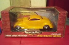 1999 American Muscle Rod Customs Posies Swept Back Coupe 1/24 Car Ertl