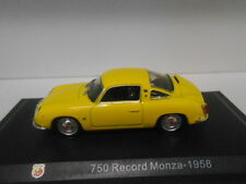 FIAT ABARTH 750 RECORD MONZA 1958 ABARTH COLLECTION HACHETTE 1/43