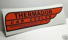 Red Thermador Car Cooler Sticker,RIGHT HAND DRIVE,evaporative swamp cooler decal