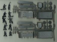 BUM Models 1/72 TWO PANTHER TANKS AND GERMAN INFANTRY Figure Set