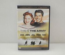Ronald Reagan This Is The Army DVD Movie