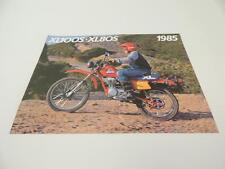 NOS 1985 XL100S XL100 XL80S XL80  Honda Dealer Brochure L49