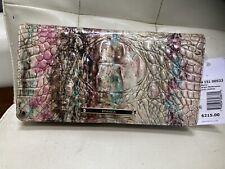 Brahmin Annmarie Leather Wallet Wristlet Clutch in Amethyst Melbourne