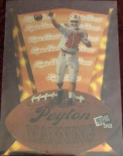New listing Peyton Manning - 1998 Press Pass Triple Threat TT2 - Rookie RC - Free Shipping!