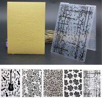 Plastic Embossing Stencils Folder Template Scrapbooking Paper Crafts Decor DIY