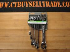 NEW Pittsburgh Ratcheting Combo Wrench Set Metric 61400
