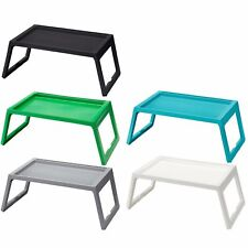 IKEA KLIPSK Breakfast Food Meal Serving Bed Tray Table w/ iPad Holder 4 Colours