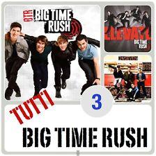 3 Big Time Rush - 24/Seven, BTR, Elevate ( 3 CD - Album )