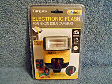 Targus Tg-Dl20N Electronic Flash W/ Tilt Head For Nikon Dslr Cameras New Sealed