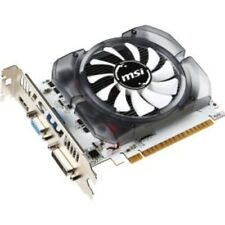 MSI Video Card Electronic NVIDIA GeForce GTX 730 DDR3 PCI Express 2.0 Graphics