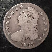 1833 Bust Half Dollar - High Quality Scans #F319
