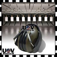 Safety Gun Shooting Range Noise Cancelling Ear Muff Folding Hearing Protection U