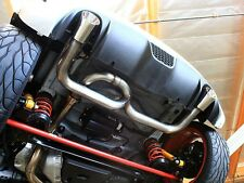"Neu-F 2.5"" Axle-Back Performance Exhaust (No Muffler)  '12+ Fiat 500 Abarth/500T"