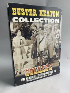 BUSTER KEATON COLLECTION rare 3 disc DVD BOX SET Hollywood silent movie