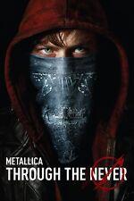 Metallica Through the Never (DVD, 2014, 2-Disc Set) NEW