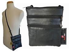Ladies Small Genuine Soft Leather Cross Body Shoulder Bag Neck Pouch Bag RL178L