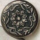 Vintage Soviet Russian Silver Lady 875 Mirror Art Deco Ornament 1950s