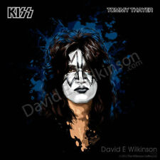 KISS Tommy Thayer Art Giclee' by David E. Wilkinson