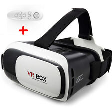 3D Glasses Upgrate Virtual Reality VR Headset BOX 2.0 Goggles Cardboard Remote