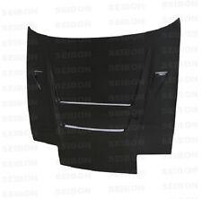 for 180SX 240SX S13 89-94 Nissan DVII Seibon Carbon Fiber Hood HD8994NS240-DVII
